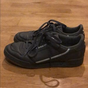 ADIDAS Gray Continental 80 Shoes
